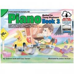 Progressive Piano Method for Young Beginners Book 3 BOOK/ON LINE AUDIO (KOALA)