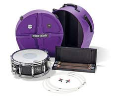 """Sonor Gavin Harrison """"Protean"""" 14x5.25"""" Premium Snare Drum Pack"""
