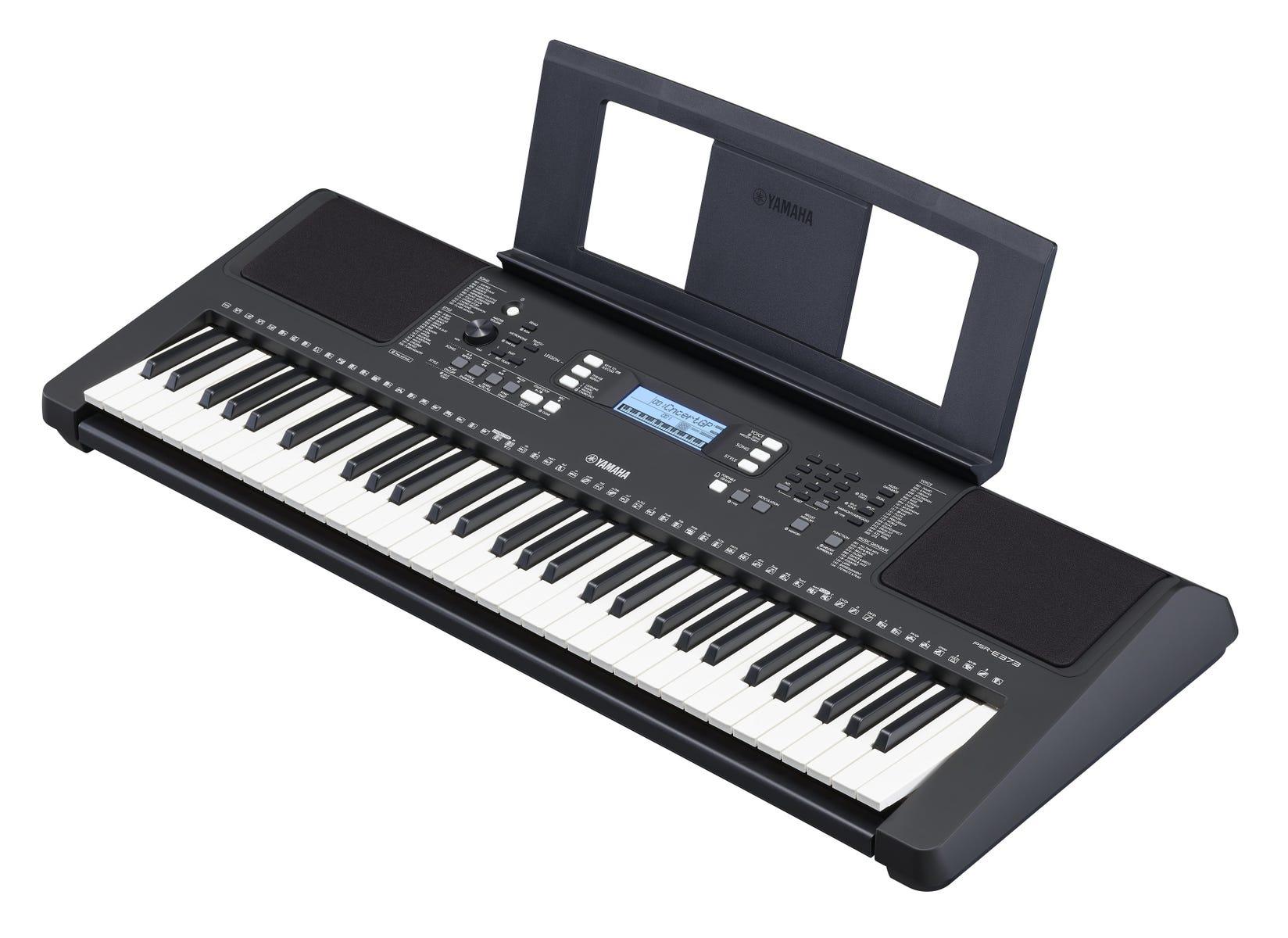 Yamaha PSR-E373 61-Key Digital Keyboard w/FREE HPH50B Headphones!