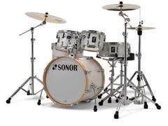 Sonor Studio AQ2 5pc Drum Kit w/Hardware - White Pearl