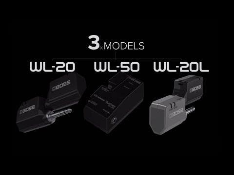Boss WL-20 Guitar Wireless System w/Cable Tone Simulation (WL20)