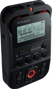 Roland R07 Hi-Resolution Audio Recorder - Black