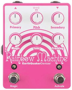 EarthQuaker Devices Rainbow Machine v2 Polyphonic Pitch Mesmerizer Pedal