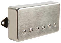 Suhr Thornbucker Humbucker Pickup - 50mm - Bridge - Raw Nickel