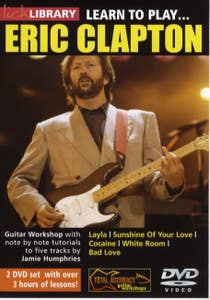 Learn To Play Eric Clapton Dvd / CLAPTON HUMPHRIES (ROADROCK)