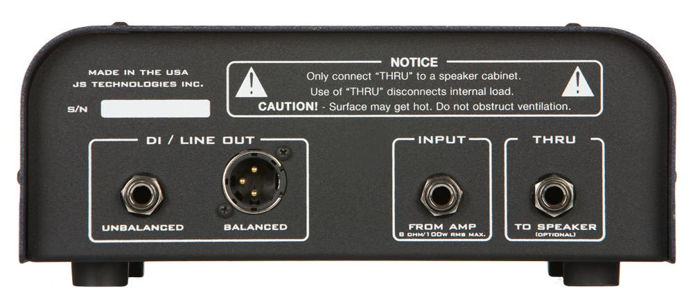Suhr REACTIVE LOAD load-box/DI for guitar amplifiers
