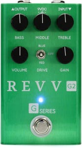 Revv Amplification G2 Green Channel Overdrive Pedal