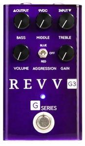 Revv Amplification G3 Purple Channel Overdrive Pedal