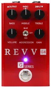 Revv Amplification G4 Red Channel Distortion Pedal