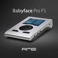 RME Babyface Pro FS 24-Channel 192 kHz USB Audio Interface