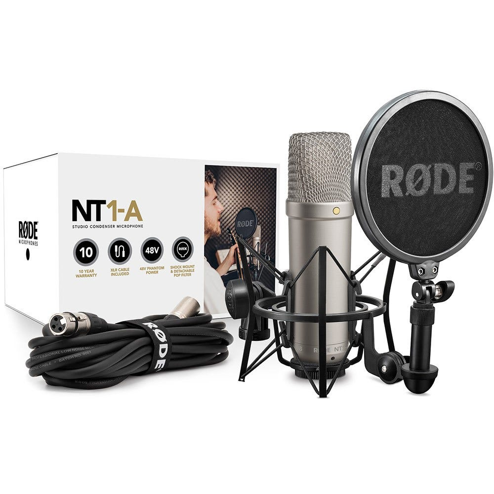 Rode NT1A Condenser Microphone Pack (NT-1A)