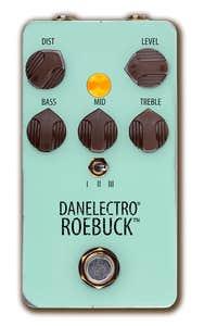 Danelectro Roebuck Overdrive/Distortion Pedal