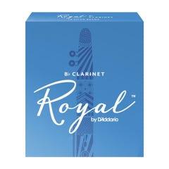 Rico ROYAL Clarinet Reeds - Box of 10 - Strength 3