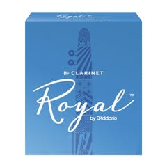 Rico ROYAL Clarinet Reeds - Box of 10 - Strength 2.5