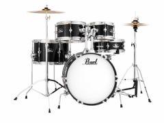 Pearl Roadshow Junior Drum Kit w/Cymbals - Jet Black