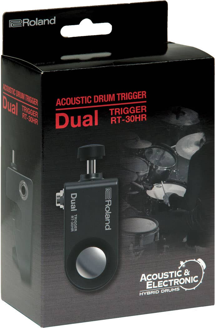Roland RT-30HR Dual Acoustic Drum Trigger for Head and Rim (RT30HR)