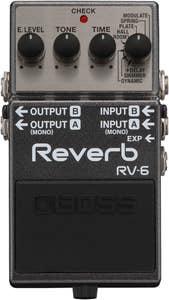 Boss RV-6 Digital Reverb Pedal (RV6)