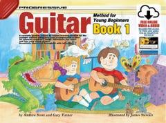 Progressive Guitar Method for Young Beginners Book 1 BOOK/ONLINE AUDIO / SCOTT TURNER (KOALA)