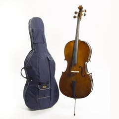Stentor Student I 1/2 Size Cello Outfit - Antique Chestnut