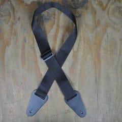 Colonial Polyweb Guitar Strap - Black (SAN-BK)