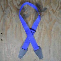Colonial Polyweb Guitar Strap - Blue (SAN-BLUE)