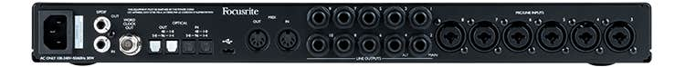 Focusrite Scarlett 18i20 USB Audio Interface w/Pro Tools First & Ableton Live Lite (Gen 3)