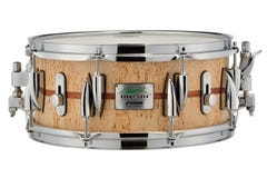 "Sonor Benny Greb 13x5.75"" Snare Drum - Scandinavian Birch Veneer / Bubinga Inlay"