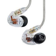 Shure SE425 Sound Isolating Earphones - Clear (SHR-SE425-CL)