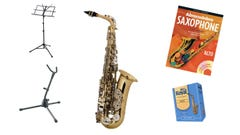 Selmer AS400 Alto Sax Start-up Package!