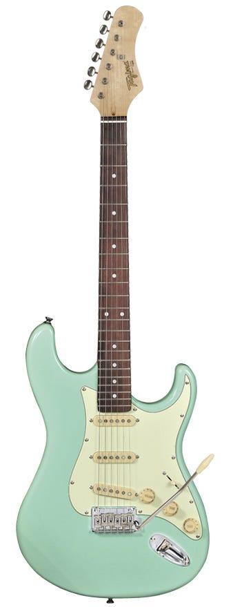 Tagima Guitars TG-530 Electric Guitar - Surf Green