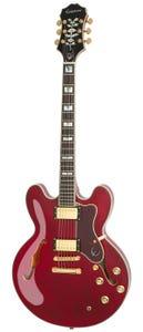 Epiphone Sheraton II PRO Semi-Hollow Electric Guitar - Wine Red