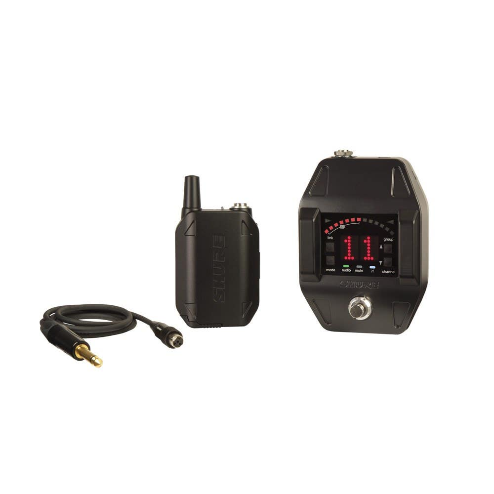 Shure GLXD16 Wireless Guitar Pedal System