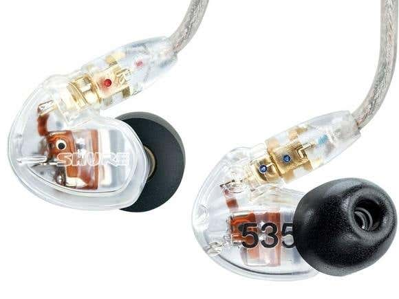 Shure SE535 Sound Isolating Earphones - Clear (SHRSE535-CL)