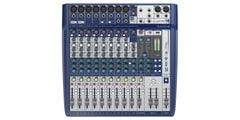 Soundcraft Signature 12 Analog Mixer w/USB and Effects