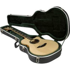 SKB Thin-line Acoustic/Classical Guitar Case - Black (Guitar Not Included)