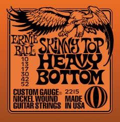 Ernie Ball Skinny Top/Heavy Bottom Electric Guitar String Set 10-52 (2215)