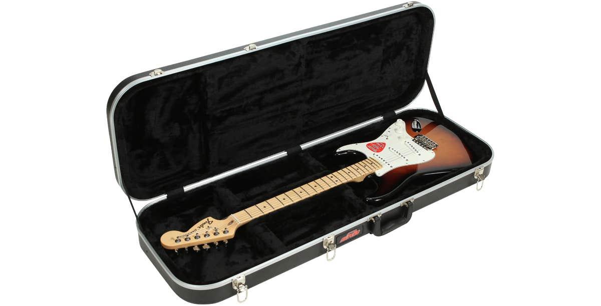 SKB Electric Guitar Case - Black (Guitar not included)