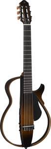 Yamaha SLG200N Silent Guitar Nylon String - Translucent Black (SLG200NTBL)