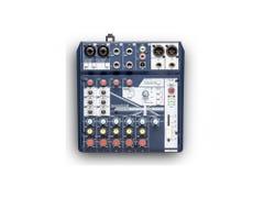 Soundcraft Notepad-8FX Analog Mixer w/USB and FX