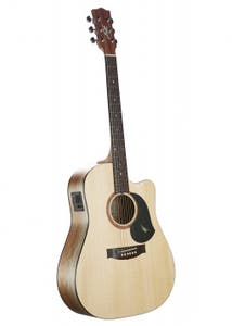 Maton SRS60C Road Series Acoustic Electric Guitar - Natural Satin