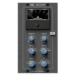 Solid State Logic (SSL) GCOMP v3 500 series Stereo Bus Compressor Module