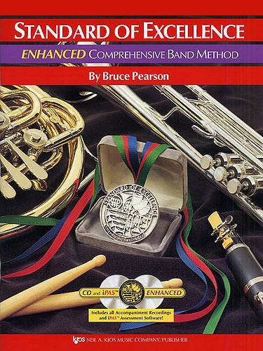 standard of excellence BK 1 enhanced BK/2CD / CLARINET (KJOS)