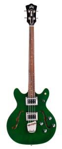 Guild Starfire Bass II Semi-Hollow Bass w/Case - Emerald Green