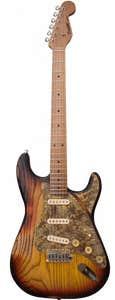 Paoletti Guitars Stratospheric Loft SSS - 3 Tone Sunburst