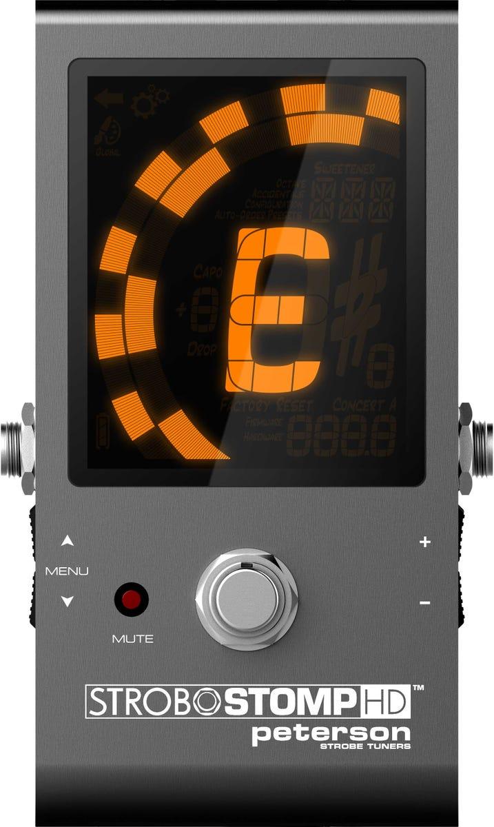 Peterson Strobo-Stomp HD Tuner Pedal