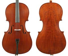 Enrico Student Extra Cello Outfit 1/4