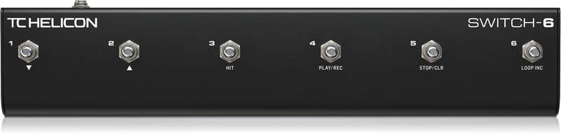 TC Helicon Switch-6 Footswitch