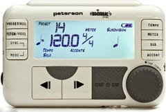 Peterson Body Beat Sync Metronome w/Sync and Pulse (PE-BODY-BEAT)