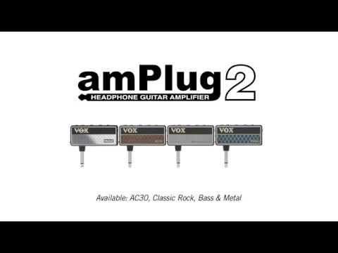 VOX amPlug 2 Metal headphone guitar amp (AP2MT)