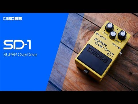 Boss SD-1 Super OverDrive (SD1)
